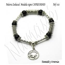 Pulsera Zodiacal Signo CAPRICORNIO. Medalla Zodiacal. Z021CAPRICORNIO2