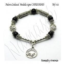 Pulsera Zodiacal Signo CAPRICORNIO. Medalla Zodiacal. Z022CAPRICORNIO2